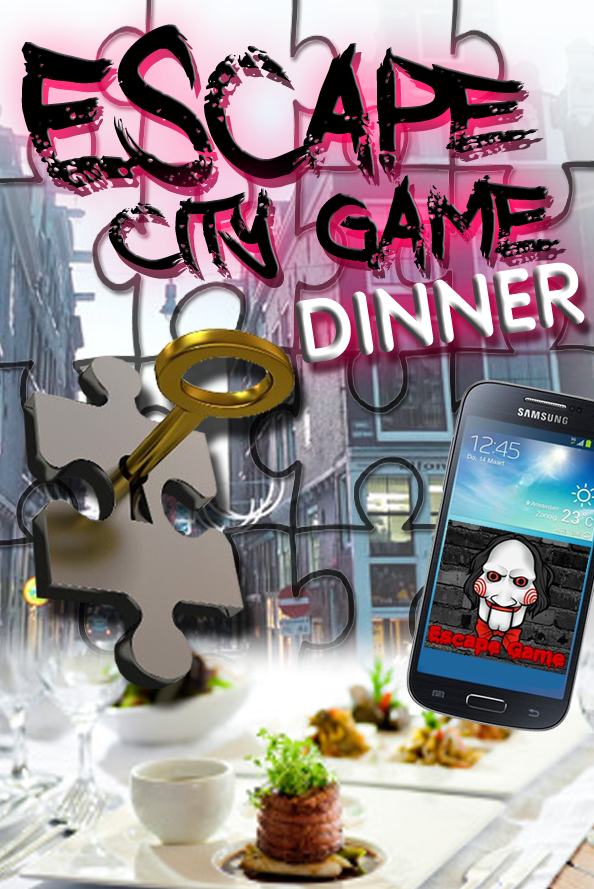 Dinner – Escape City Tablet Game in Amsterdam